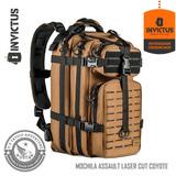 Mochila Assault Laser Cut Lc Coyote Preta Invictus Original 563d1b9479b
