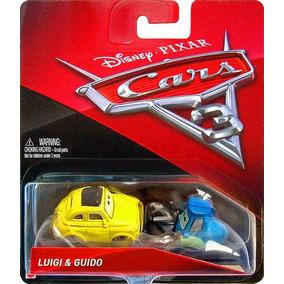 Disney Cars 3 Luigi & Guido Mattel Mcqueen Filmore Flo Sally