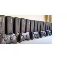 Xbox 360 Slim Sem Caixa + Garantia + Desblokeado Lt+rgh