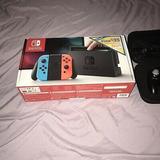 Nintendo Switch 32gb Consola Con Neón Azul Y Rojo Joy-cons H