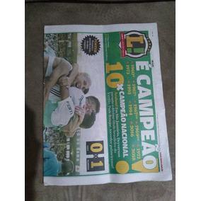 Jornal Lance Palmeiras É Campeão 10x Campeão Nacional