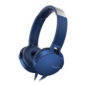 Audífonos Extra Bass Xb550ap Azul