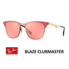 31eacbb224687 Ray Ban Blaze Clubmaster Rosa De Sol - Óculos no Mercado Livre Brasil