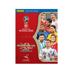 Albúm Colecionável Adrenalyn Xl World Cup Russia 2018-panini