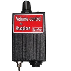 Volume Control Para Headphone Black Bug