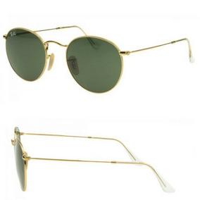 Oculos De Sol Estilo Redondo Metal 3447 Masculino Feminino. R  167. 12x R   15. Frete grátis f83b53dd70