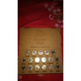 Coleção Completa Das Moedas Olímpicas Ja No Porta Moedas
