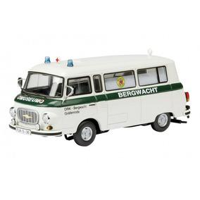 43 Schuco Barkas B 1000 Bus Volkspolizei Ddr 1 - Automóveis