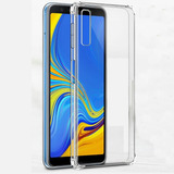 Capa Capinha Anti Impacto Samsung Galaxy A7 2018 + Pl. Vidro