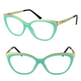 Armacao Para Oculos De Grau Feminina Gatinha - Calçados, Roupas e ... 45fedfed2d