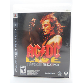 Ac Dc Live Rock Band Track Pack Play Station 3 Original