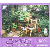 Selecciones Escénicas 1000pc. Puzzle-my Corner Garden