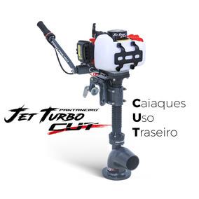 Motor Caiaque Jet Turbo Cut Pantaneiro Uso Traseiro