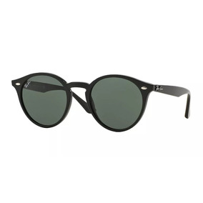 Óculos Round Highstreet 2180 Preto Brilho Retro Masculino F. R  219. 12x R   20. Frete grátis ff3cf3aa8c