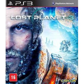 Lost Planet 3+box Metálico Splinter Cell Blacklist Ps3 Novo