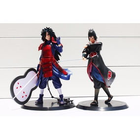 Action Figure Madara E Sasuke Pronta Entrega