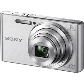 Camera Compacta Sony Cyber Shot Dsc-w800 Nova Prata A10717