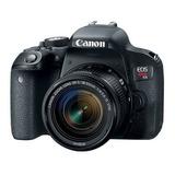 Camara Canon Rebel T7i 800d Con Lente 18-55mm Stm Dslr Nueva