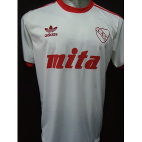 Camiseta Retro Independiente Mita Blanca