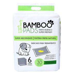 Tapete Higiênico P/ Cães 30 Unidades 60x90cm - Bamboo Pads