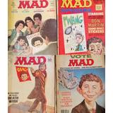 Lote De 29 Revistas Mad En Ingles Años 70s 80s