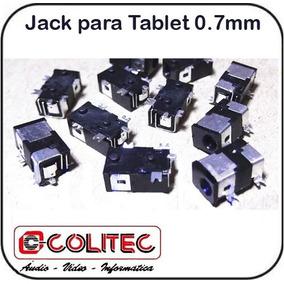Jack Para Tablet´s 0,7 Mm Uso Em Tablets Netbook Etc ...