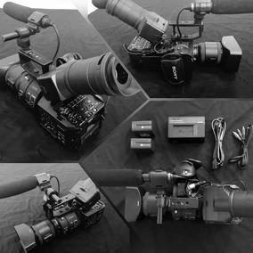 Câmera Sony Nex Fs700 - Completa
