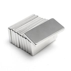 Imãs Neodimio 10 Peças N52 20x10x2 Mm Pronta Entrega