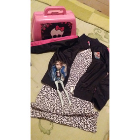 Kit Com Bolsa Monster Hight