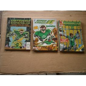 Lanterna Verde 3 Ediçoes Raras E Antigas