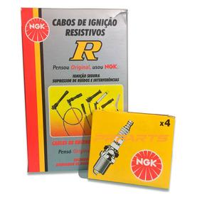 Jogo Vela + Cabo Ngk Ford Ka 1.0 8v Flex 2008 2009 2010 2011