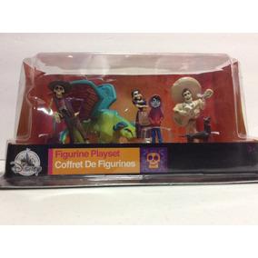 Play Set De Disney Store Coco Con 6 Figuras Es 100% Nuevo