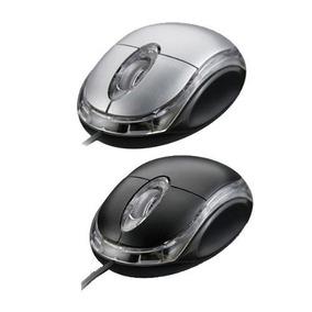 Mouse Exbom Para Notebook Óptico Usb Windows Color Led Pc