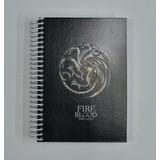 Libreta Cuaderno Game Of Thrones Ice & Fire Stark Targaryen
