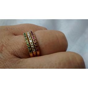 237d2a2733e Meia Alianca Ouro Com Rubi E Brilhante - Joias e Bijuterias no ...