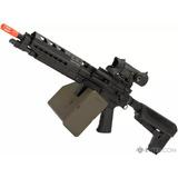 Rifle Airsoft Krytac Trident Lmg Enhanced Com Nota Fiscal.