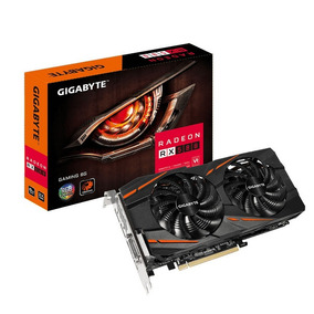 Placa De Video Rx 580 8gb Gigabyte Gddr5 Box Poco Uso