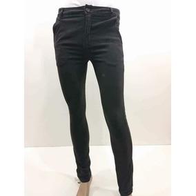 Pantalon Skinny Caballero Gabardina Strech Gris