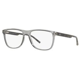 Armação Oculos Grau Armani Exchange Ax3048 8239 54mm Cinza T 35a3660378
