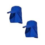 2 Unidades De Touca Arabe Brim Azul Royal Soldador b2a0810c32d
