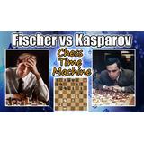 Curso De Xadrez - Sisiciliana De Pretas - Kasparov E Fischer