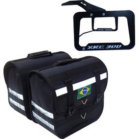 Kit Alforge 30 Litros+ Afastador Xre 300 Corte A Lazer