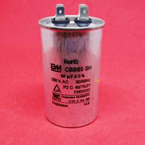 Capacitor Ar Condicionado Cadence Cbb65 60uf 250vac 50/60hz
