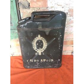 Galão De Gasolina Antigo Original Do Exército