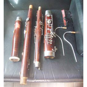 Instrumento Musical Fagot