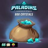 800 Paladins Crystals - Recarga Cristales Paladins - Hi-rez