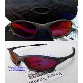 Oculos Penny Xmetal Lente Dark Ruby Polarizada + Case f025b87ba1