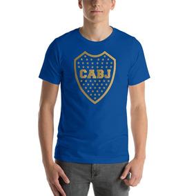 Playera Futbol Argentina Boca Juniors Dorado