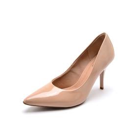 276e6c4e9 Sapato Scarpin Beira Rio Conforto Vermelho - Calçados