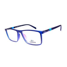 582d073ef Armacao Oculos Feminino Grau Lacoste - Óculos no Mercado Livre Brasil